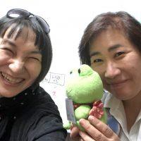受講者の遠藤真里佳さんと佐藤安南