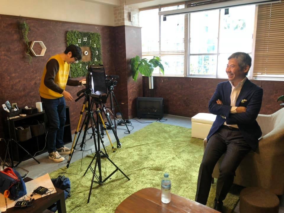 小山弘樹さんのPR動画撮影にお邪魔しました